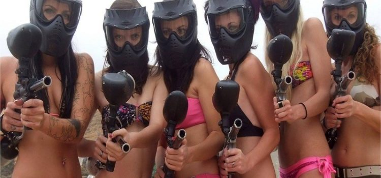 DESPEDIDAS. HAZTE UN PAINTBALL.
